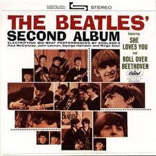 Beatles Second Album cover
