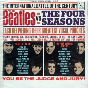 Beatles vs 4 seasons lp