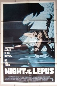 night of lepus poster