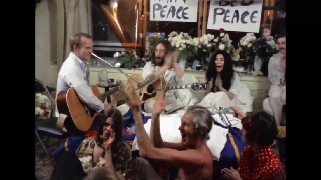 Lennon give peace