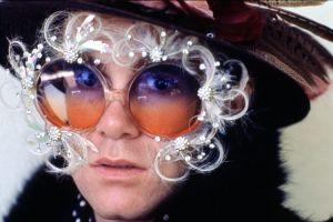 elton's glasses 1974
